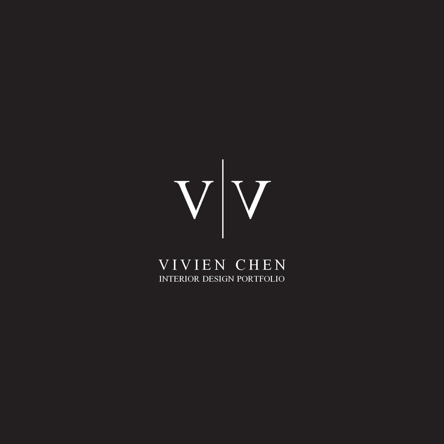 Vivien Chen  Interior Design Portfolio by Vivien Chen  Issuu