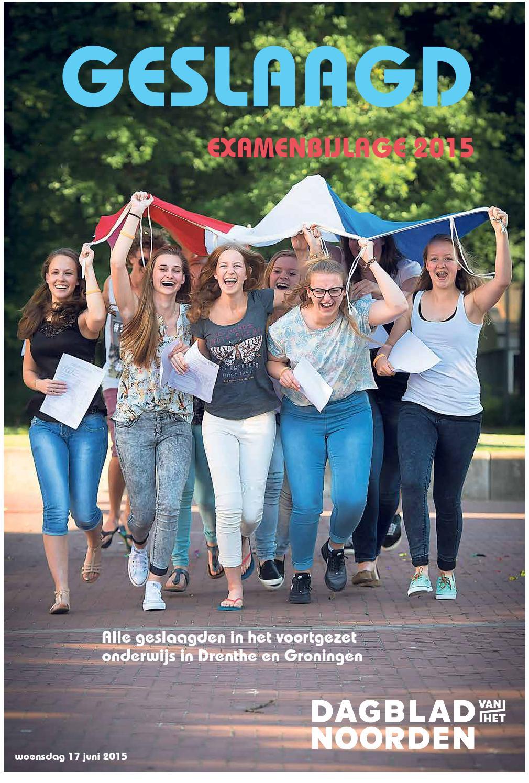 Dagblad van het Noorden examenbijlage by NDC mediagroep