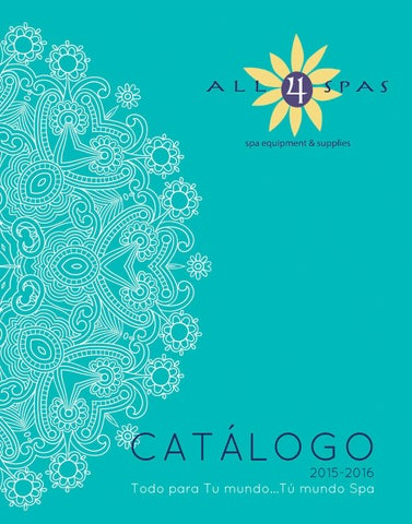 Catlogo All4spas 20152016 by All4spas  Issuu