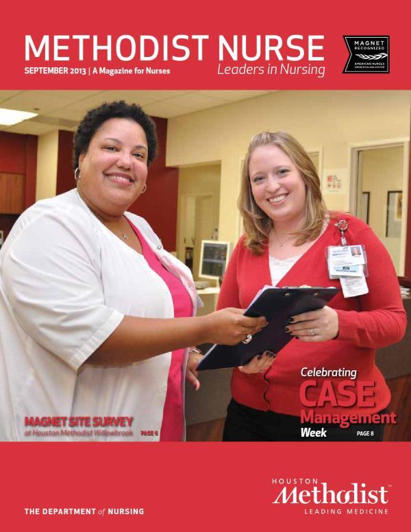 Houston Methodist Nurse 2013 - Year of Clean Water