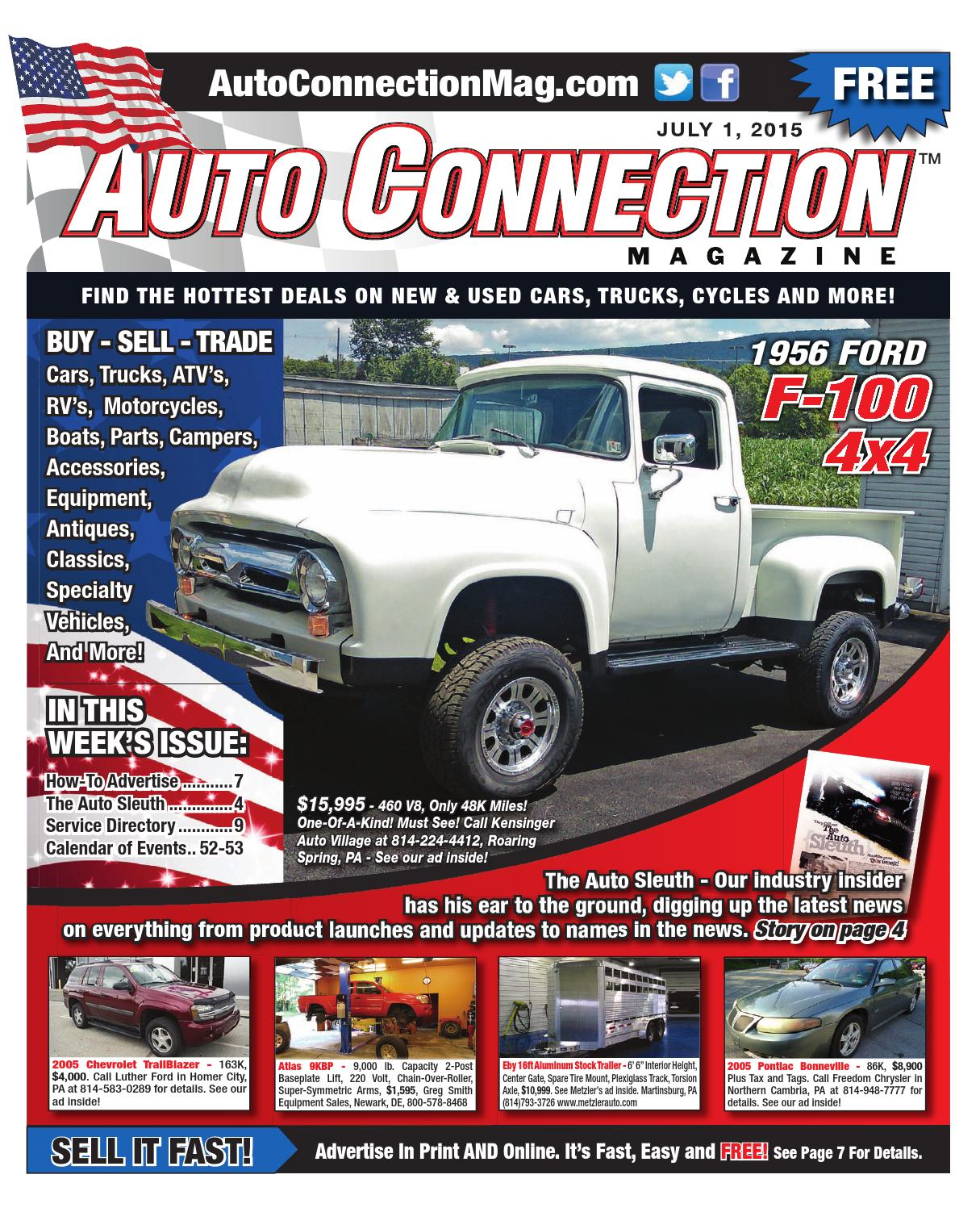 07 01 15 Auto Connection Magazine By Auto Connection Magazine Issuu