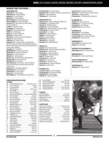 2015 Louisiana Ragin' Cajuns Football Media Guide by Ragin