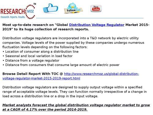small resolution of global distribution voltage regulator market 2015 2019