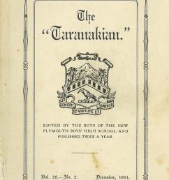 1931 the taranakian vol 20 no 2 december [ 993 x 1495 Pixel ]