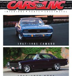 cars inc 1967 1985 camaro and 1963 1979 nova catalog v15 by cars inc issuu [ 1173 x 1491 Pixel ]