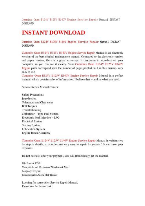 small resolution of  array free download onan e140v manual rh ndbouammzprogrzp