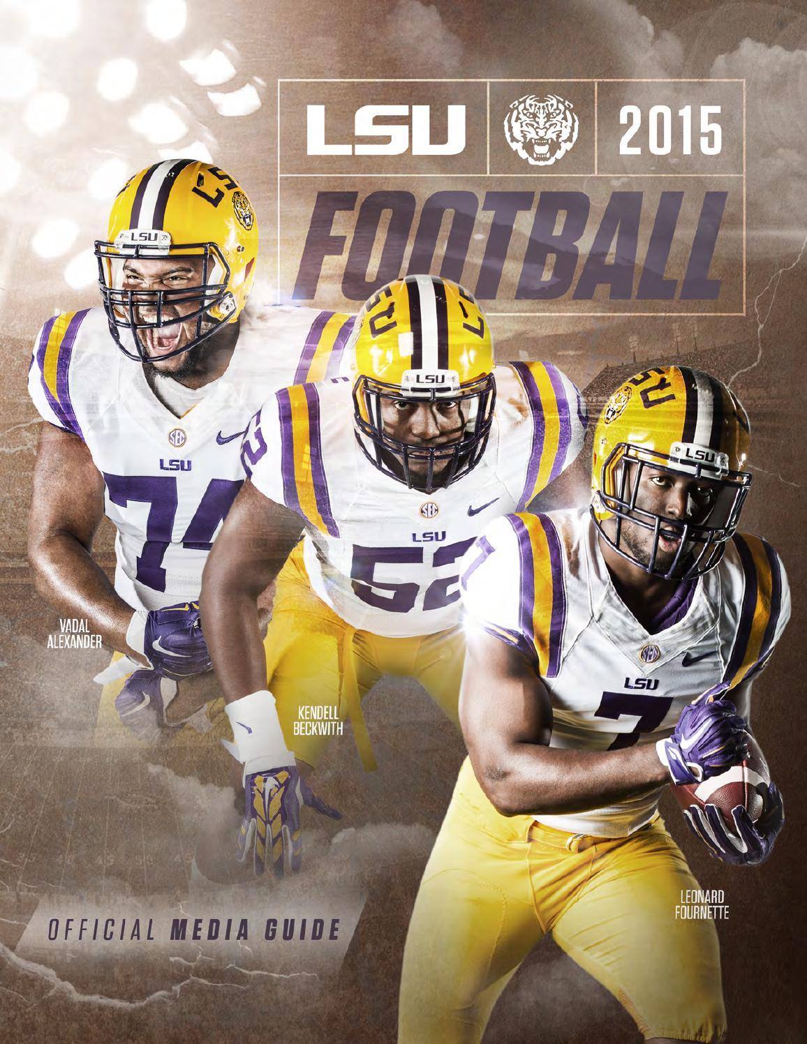 2015 lsu football media guide by lsu