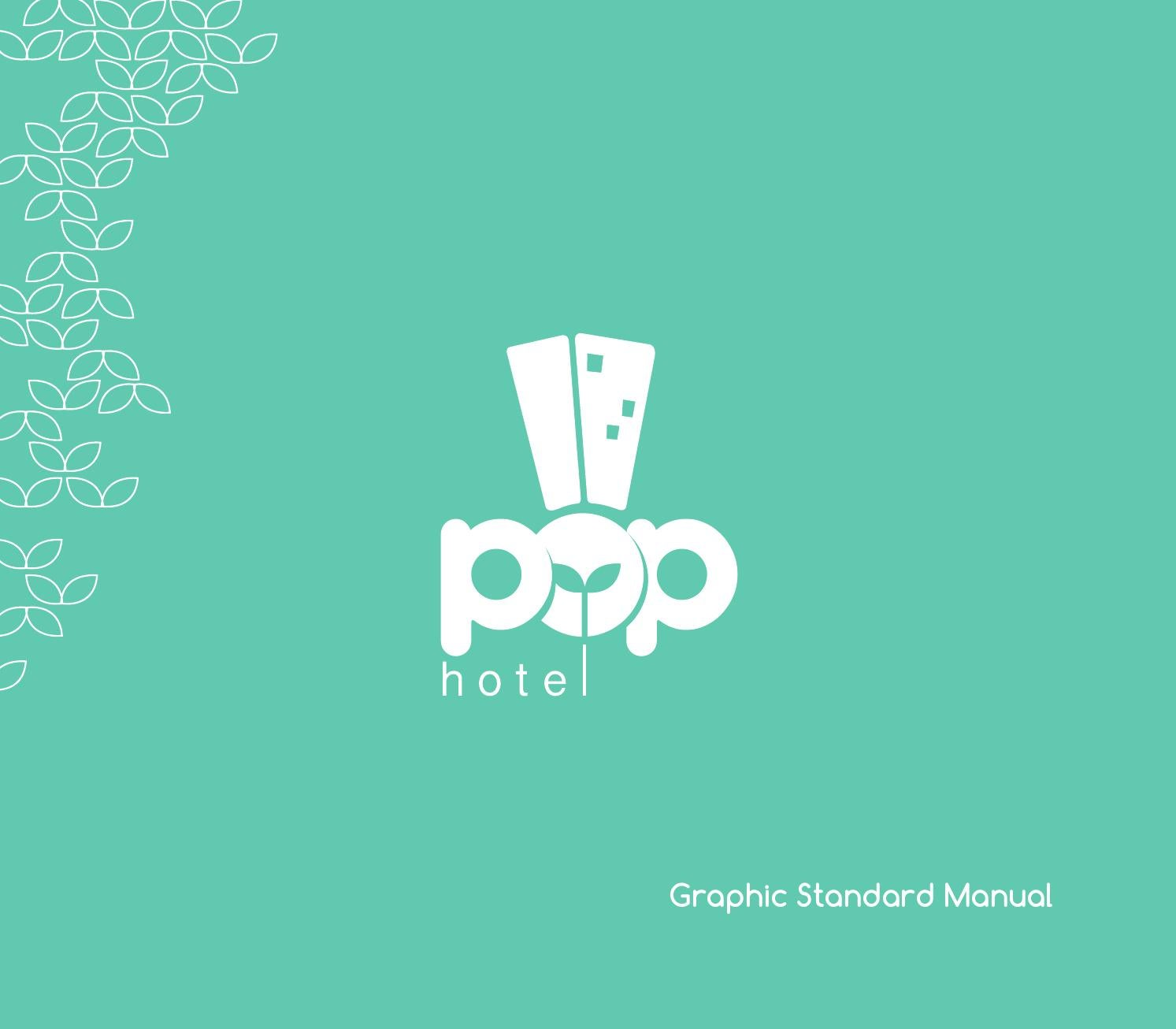 Pop Hotel Graphic Standard Manual By Shabrina Astrilia