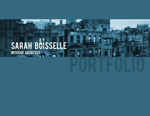 Interior Architect Portfolio by Sarah Boisselle  Issuu