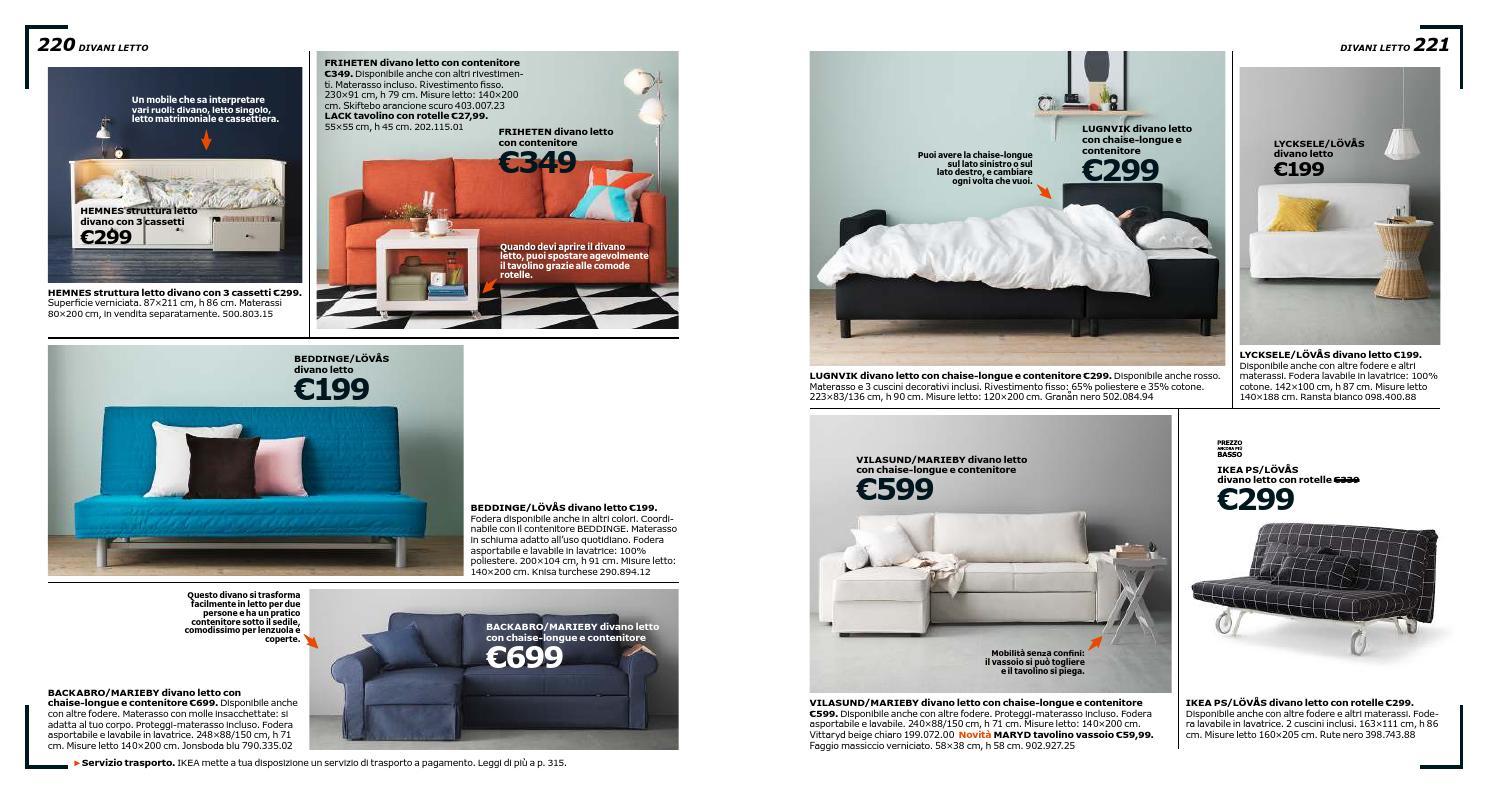 Elegante Divano Letto Ikea Flottebo Soycafenyc