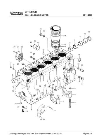 Manual trator valtra bh 180 Valtra bh t Manual
