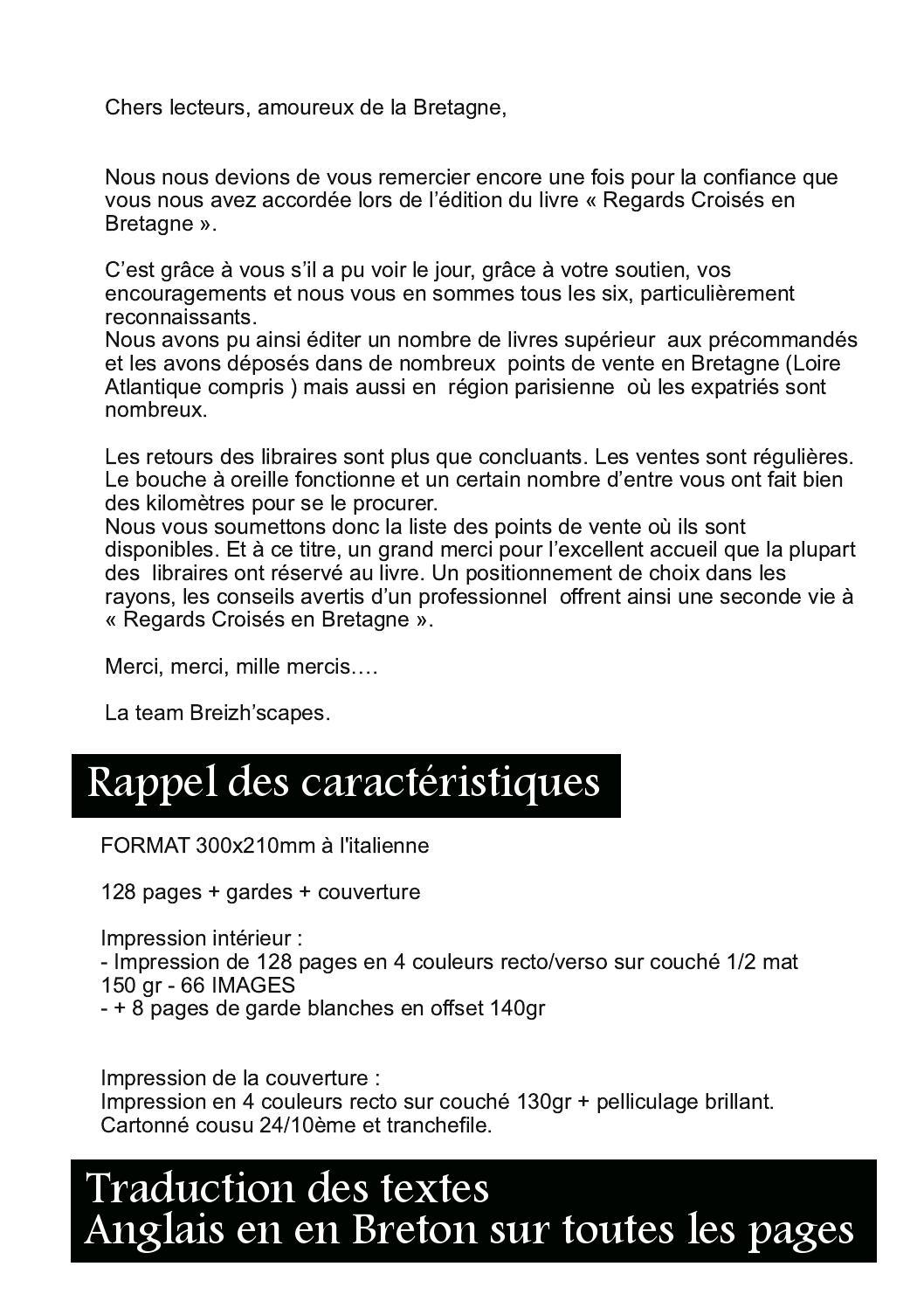 Merci Mille Fois En Italien : merci, mille, italien, Breizhscapes, N°14, Collectif, BREIZHSCAPES, Photographes, Bretagne, Vebuka.com
