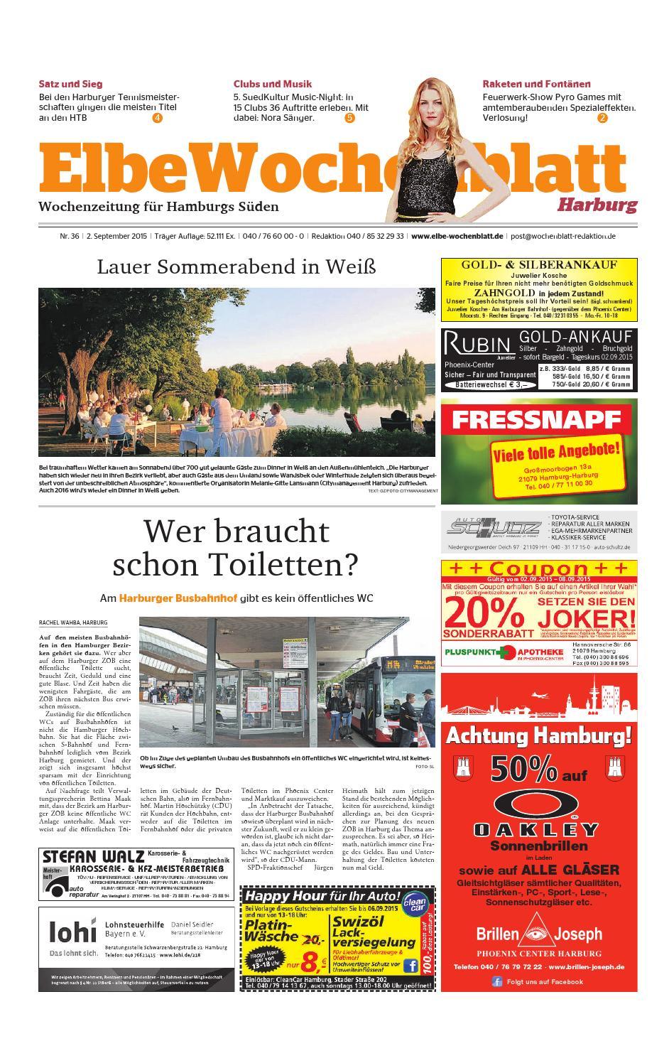 Elbe wochenblatt harburg online dating