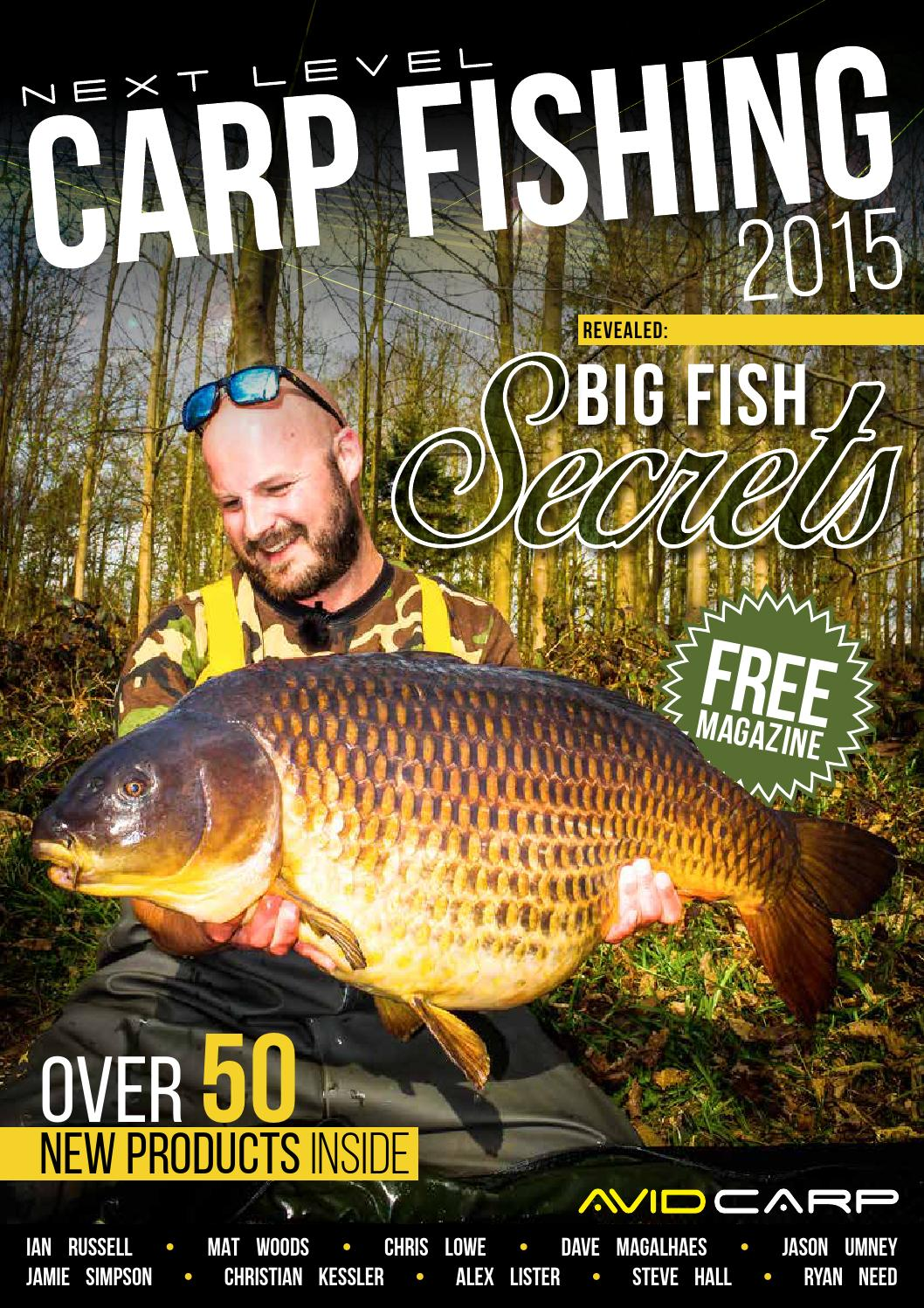Next Level Carp Fishing 2015 by Fishing UK  Issuu