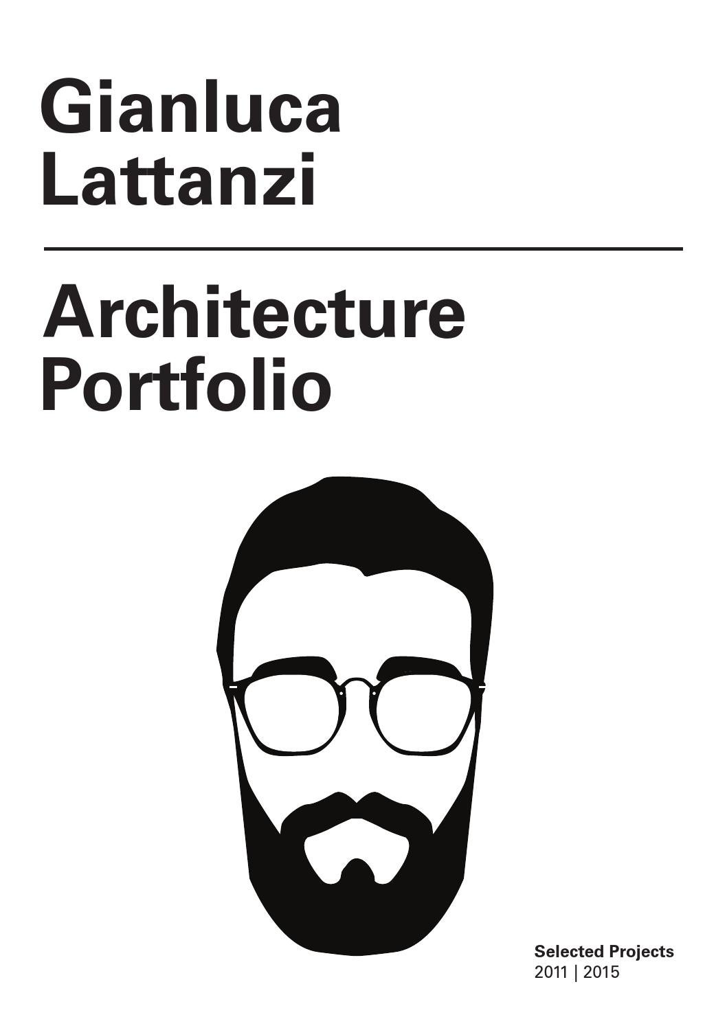 Gianluca Lattanzi Architecture Portfolio by Gianluca