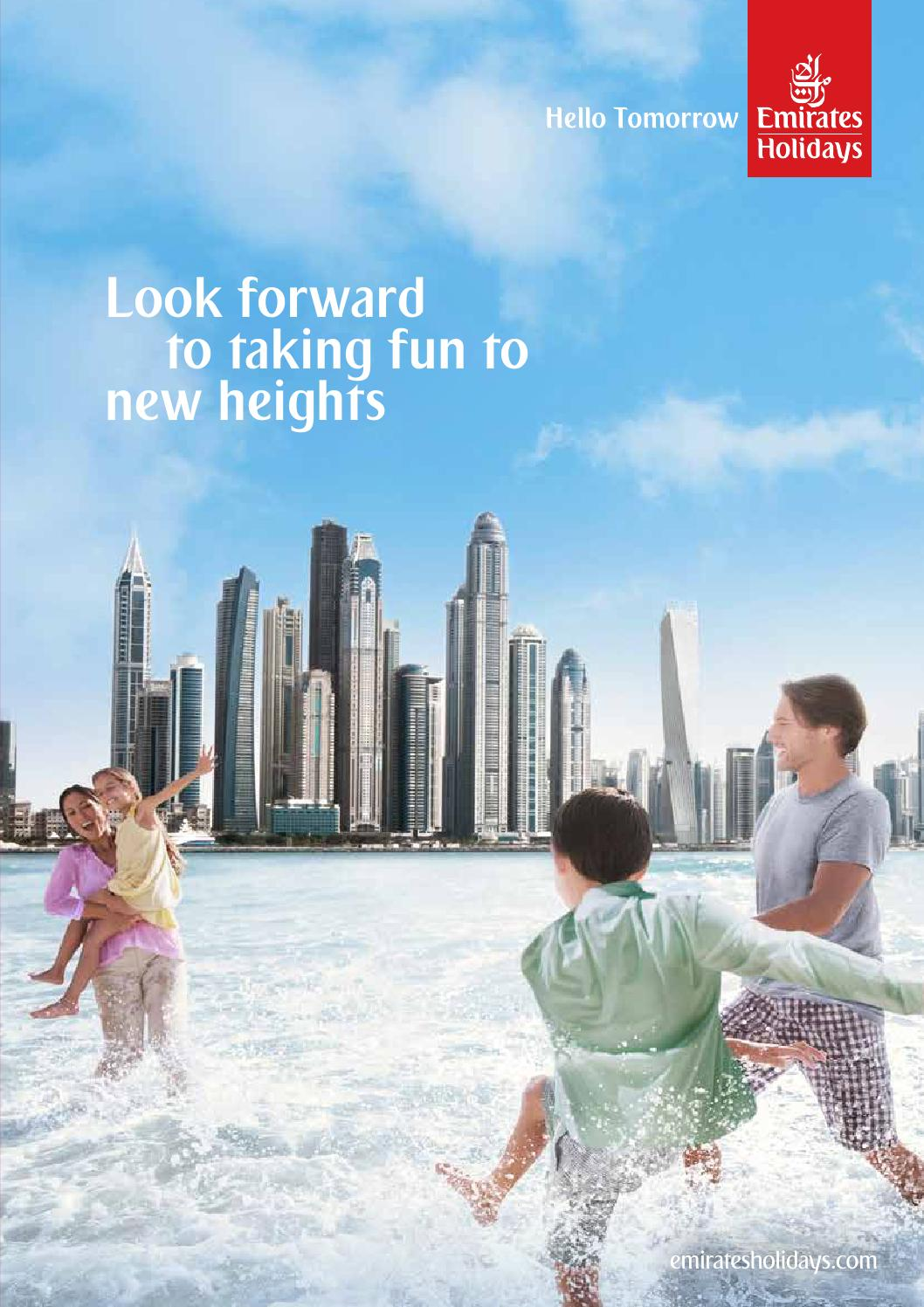 Emirates Holidays UAE Brochure By Emirates Group Issuu