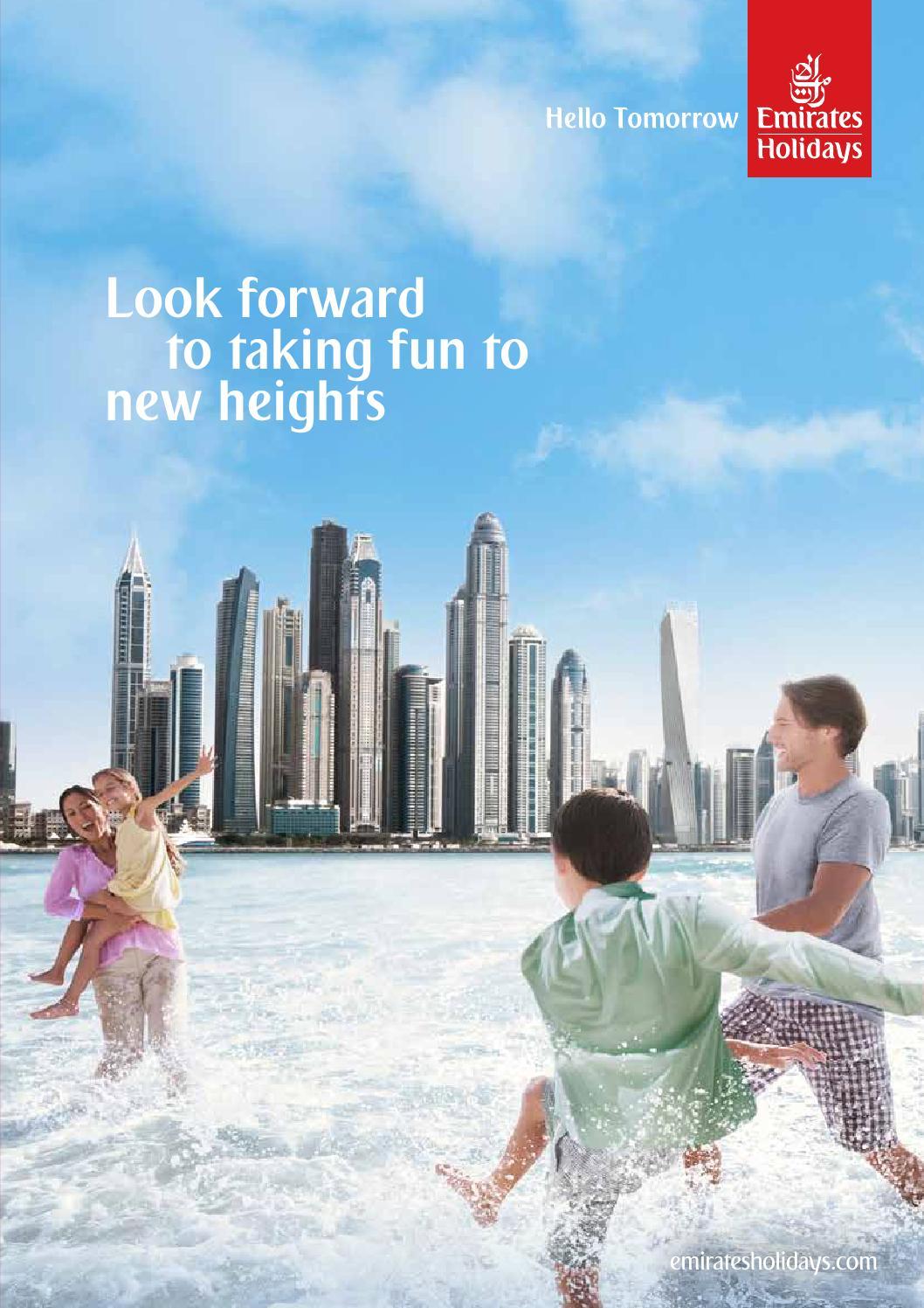 Emirates Holidays UAE Brochure By Emirates Group Issuu