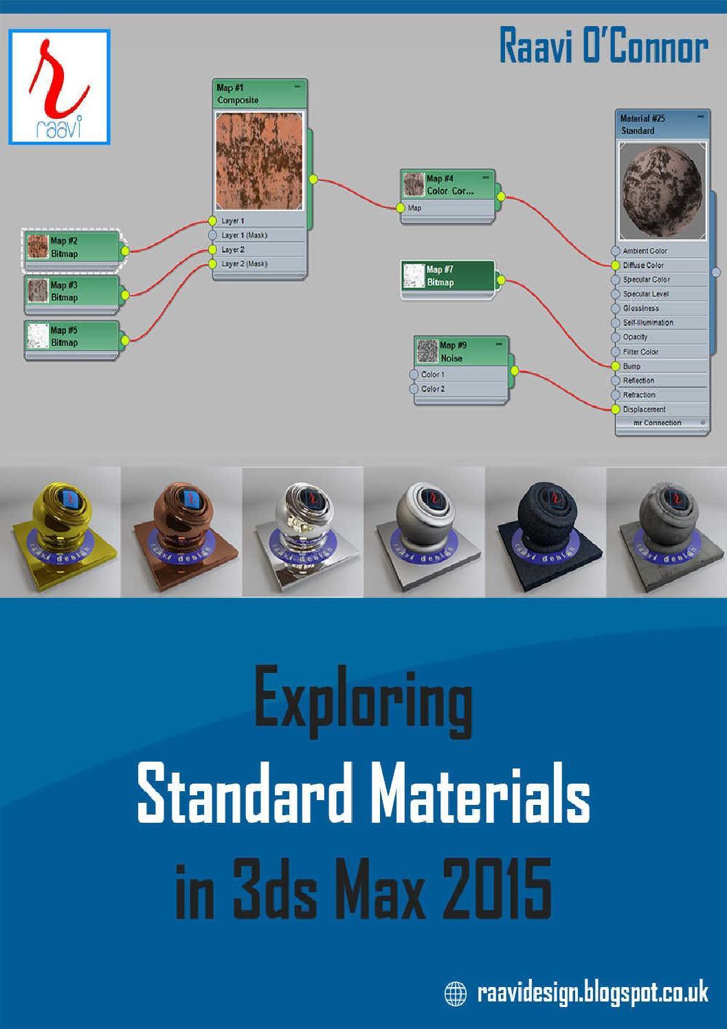 Vray 3ds Max 2015 : Exploring, Standard, Materials, Olcay, Seyyar, Issuu