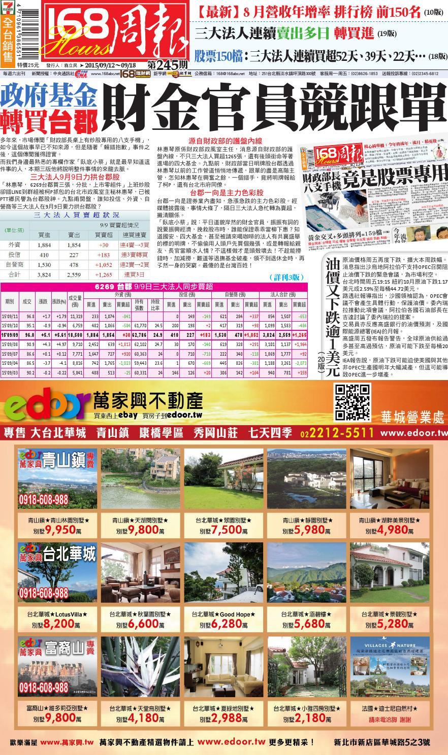 No 245 by 168網站股份有限公司 - Issuu