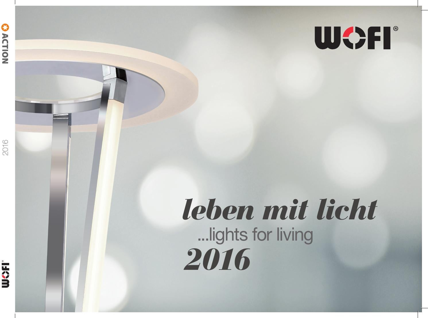 Deckenleuchte Led Praxis Wofi 2016 Action 2016 Website Anordnung By Lampen Shop Issuu