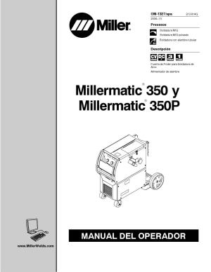 Manual en español de Millermatic 350P by casanova895  Issuu