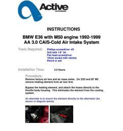 bmw e36 m50 cold air intake systems by activeautowork issuu [ 1156 x 1496 Pixel ]