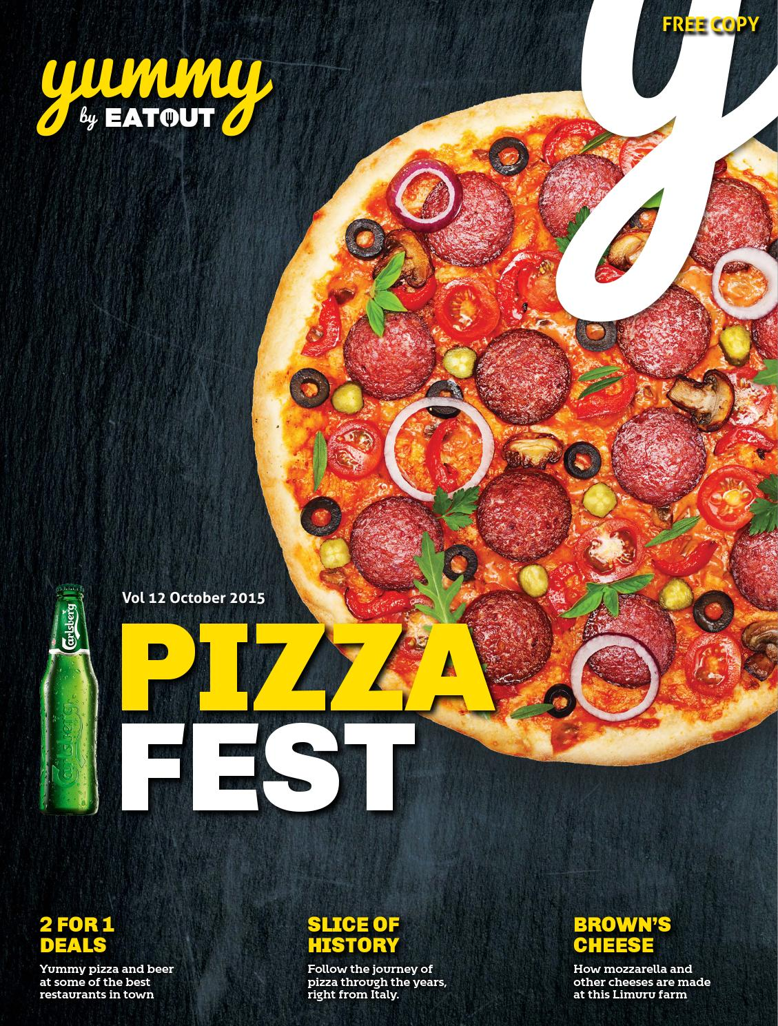 Yummy Vol 12 #PizzaFestKe By Yummy Issuu