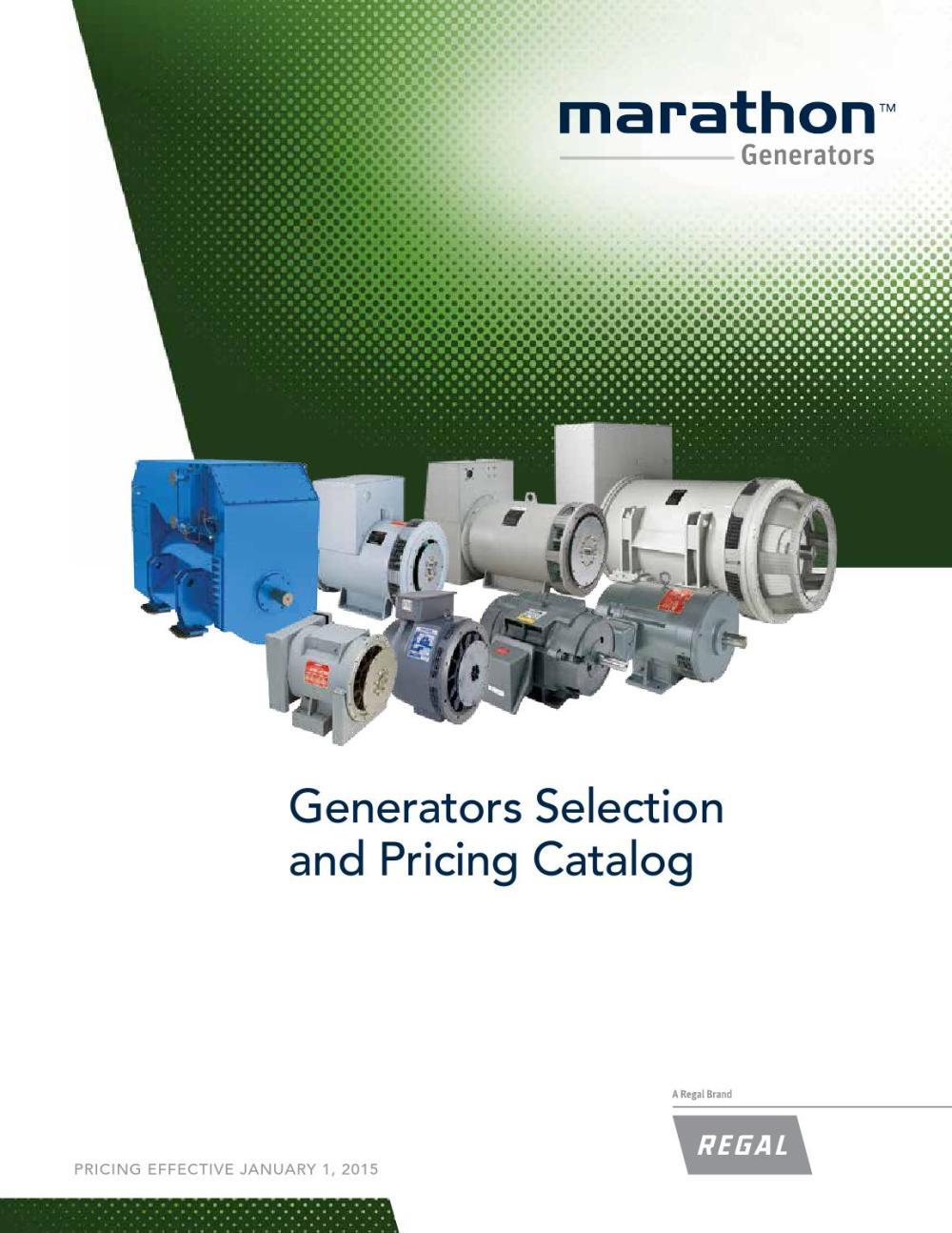 medium resolution of marathon generator selection and pricing catalog