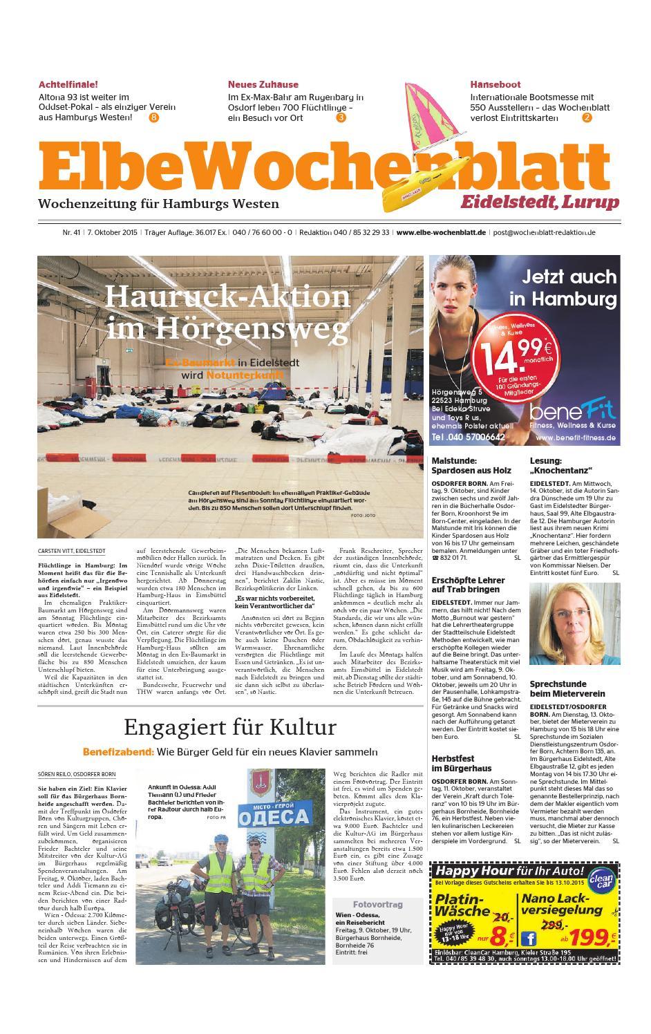 Eidelstedt Kw41-2015 By Elbe Wochenblatt Verlagsgesellschaft Mbh
