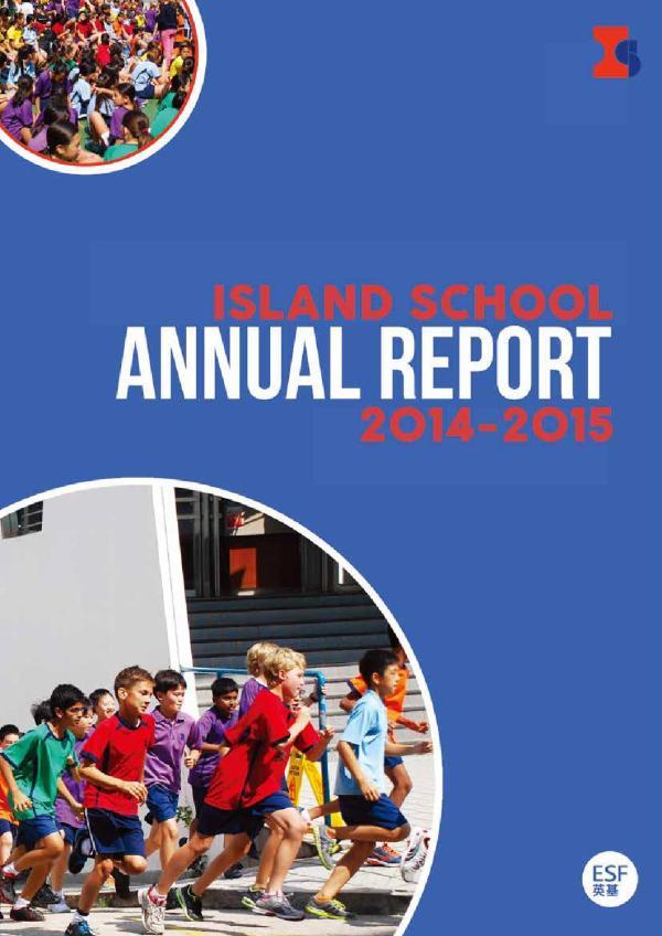Island School Annual Report 2014-2015 Samantha . Fong