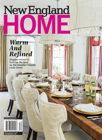 vine henredon sofa convertible new england home november december 2015 by magazine page 1