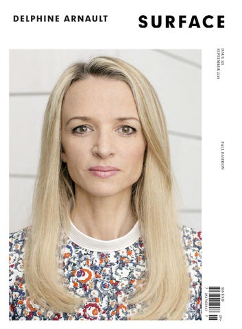 SURFACE  DELPHINE ARNAULT  SEPTEMBER 2015 by Surfacemag