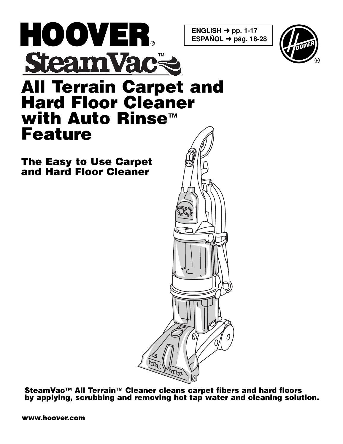 Hoover maxextract dual v all terrain manual by Aragonez