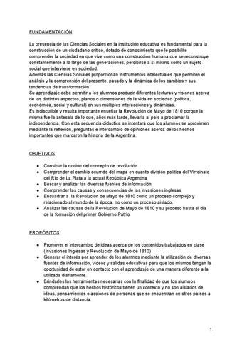 Secuencia didctica para ciencias sociales by Magali