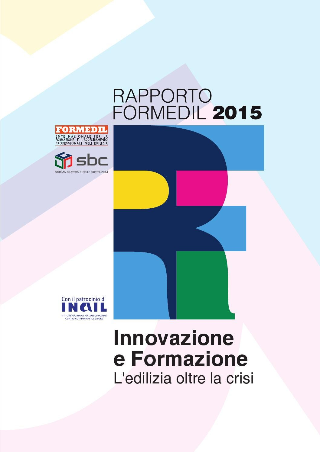 Rapporto Formedil 2015 By Formedil Formazione Edile Issuu