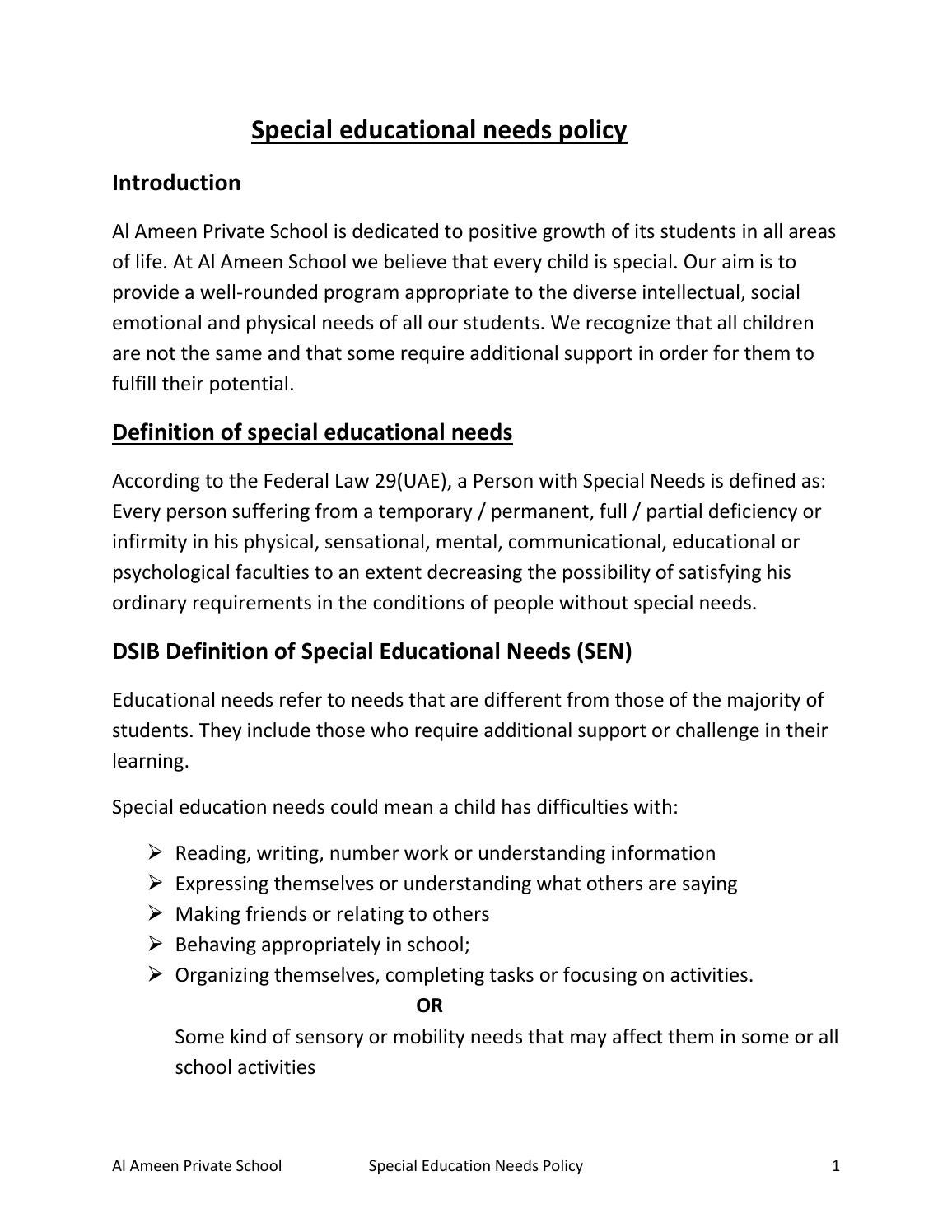 Special Education Definition | Examples and Forms