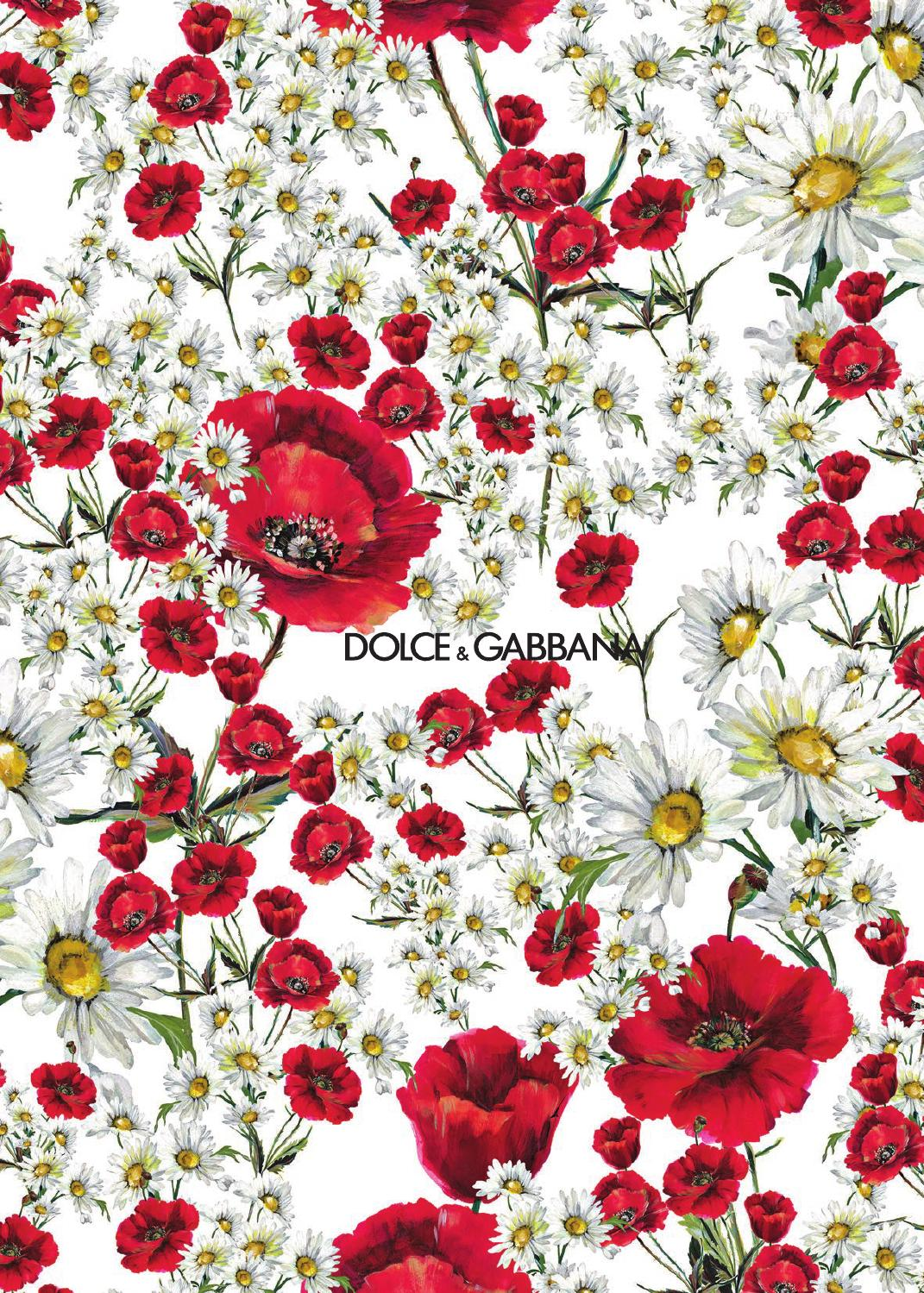 Iphone 5 Wallpaper Floral Spring Summer 2016 Women S Catalogue By Dolce Amp Gabbana Issuu