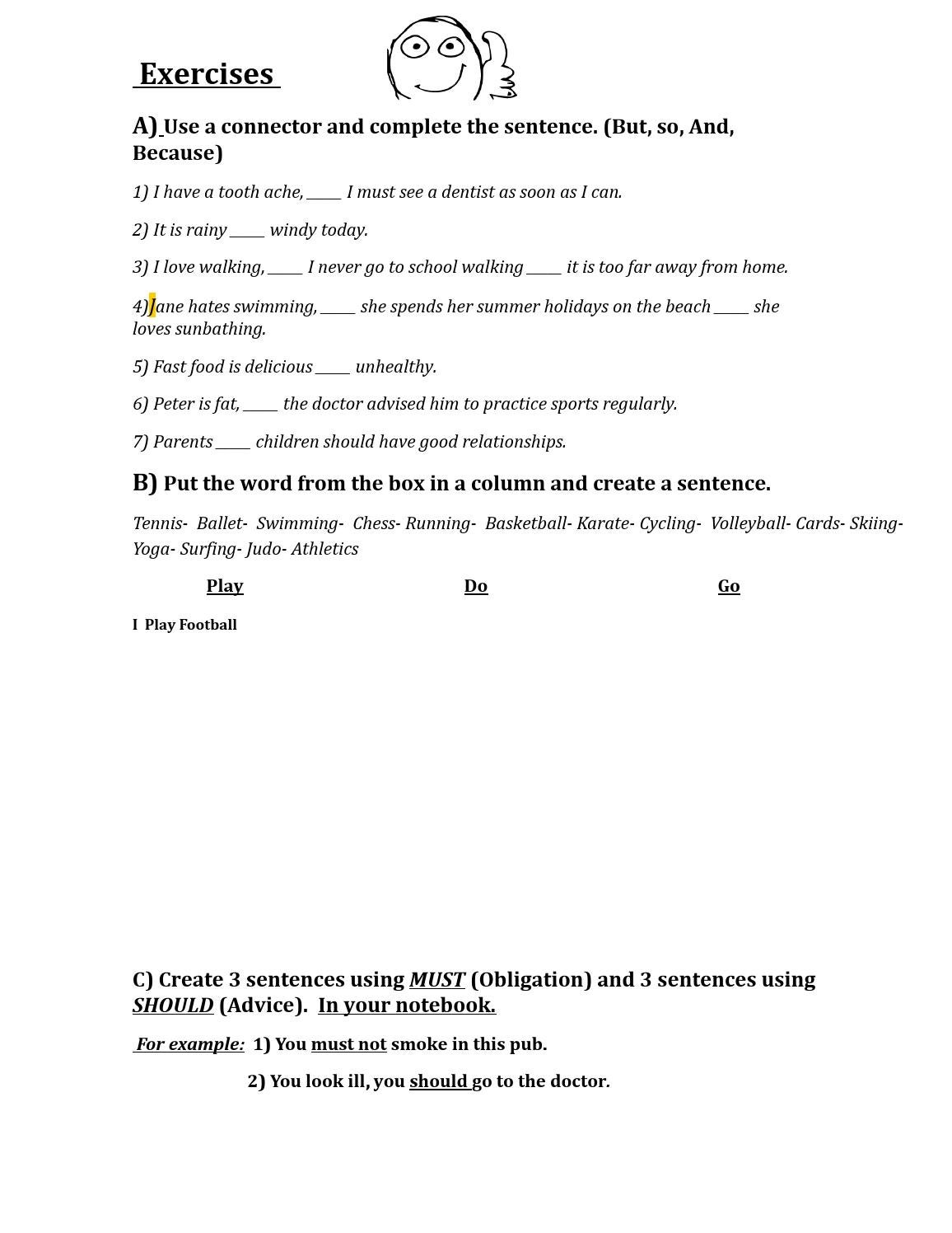 hight resolution of Worksheet 8°th grade by Pablo - issuu