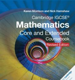 Preview Cambridge IGCSE Mathematics Core and Extended Coursebook (revised  edition) by Cambridge University Press Education - issuu [ 1498 x 1194 Pixel ]