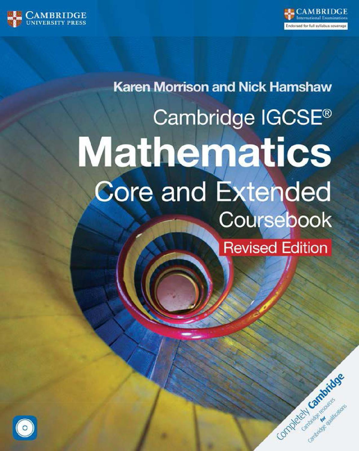 hight resolution of Preview Cambridge IGCSE Mathematics Core and Extended Coursebook (revised  edition) by Cambridge University Press Education - issuu