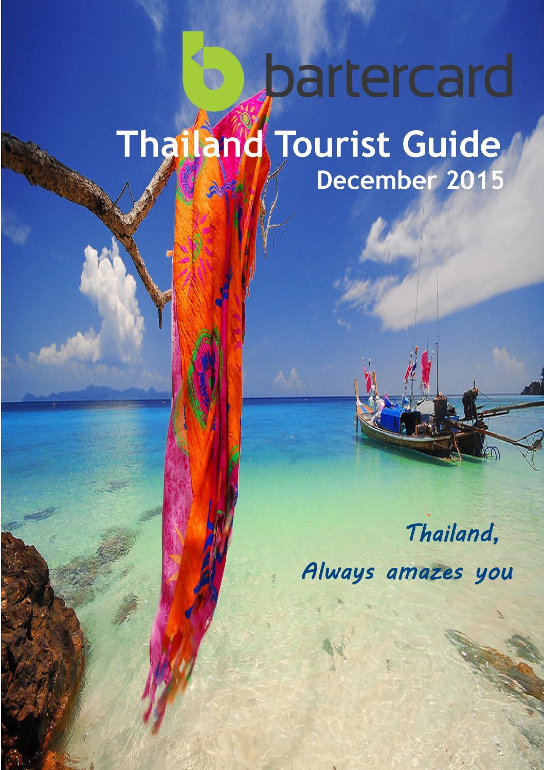 Thailand Travel Guide Dec2015 By Bartercard Thailand Issuu