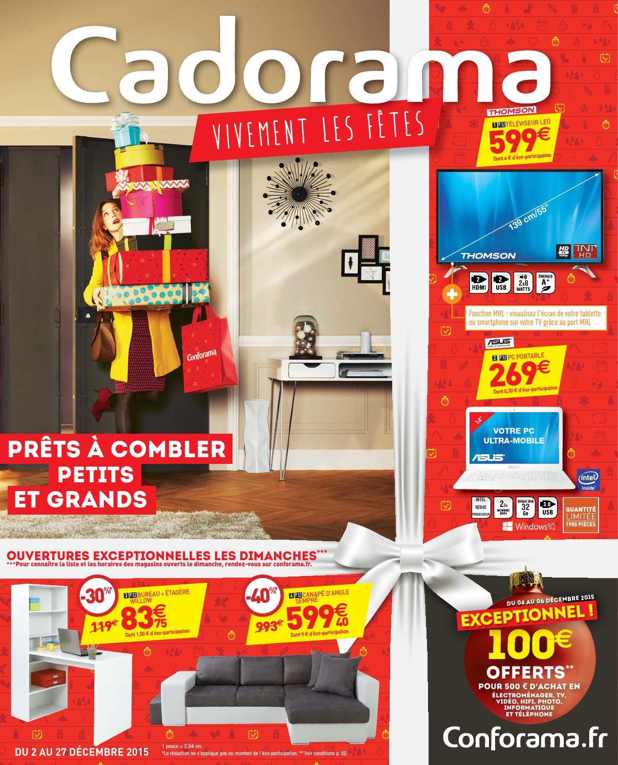 conforama catalogue 2 27decembre2015 by