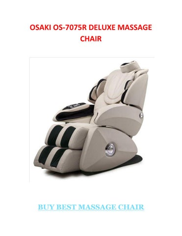 osaki 7075r massage chair teal bungee os deluxe by astolfo serrano issuu