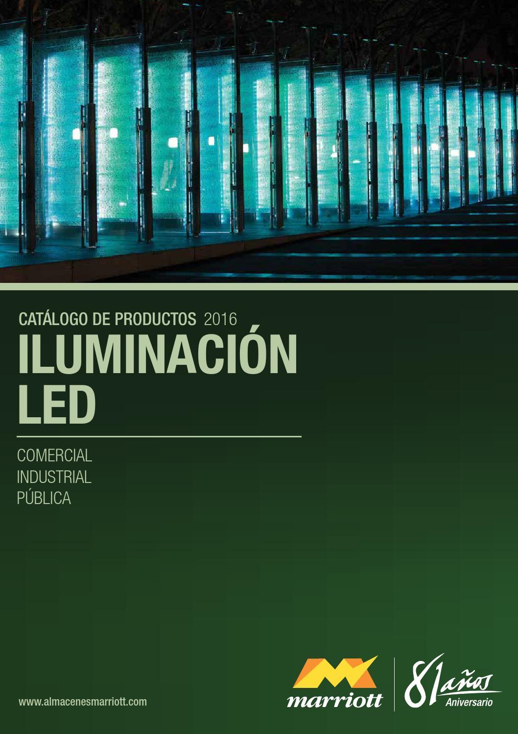 Iluminacin led catlogo 2016 by Almacenes Marriott  Issuu