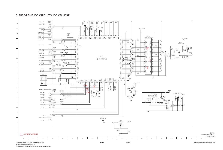 Manual de servico do mini system lg mcv905 e mcs905f s w