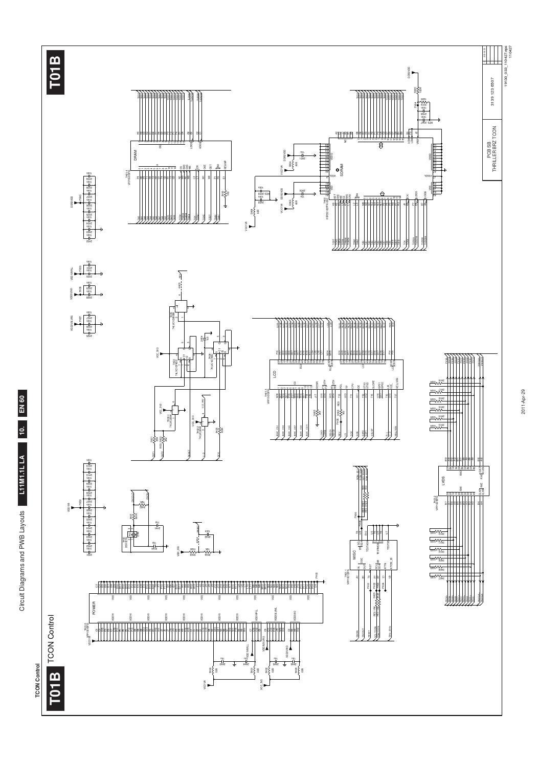 Manual de serviço televisores philips modelos 32pfl3606d e