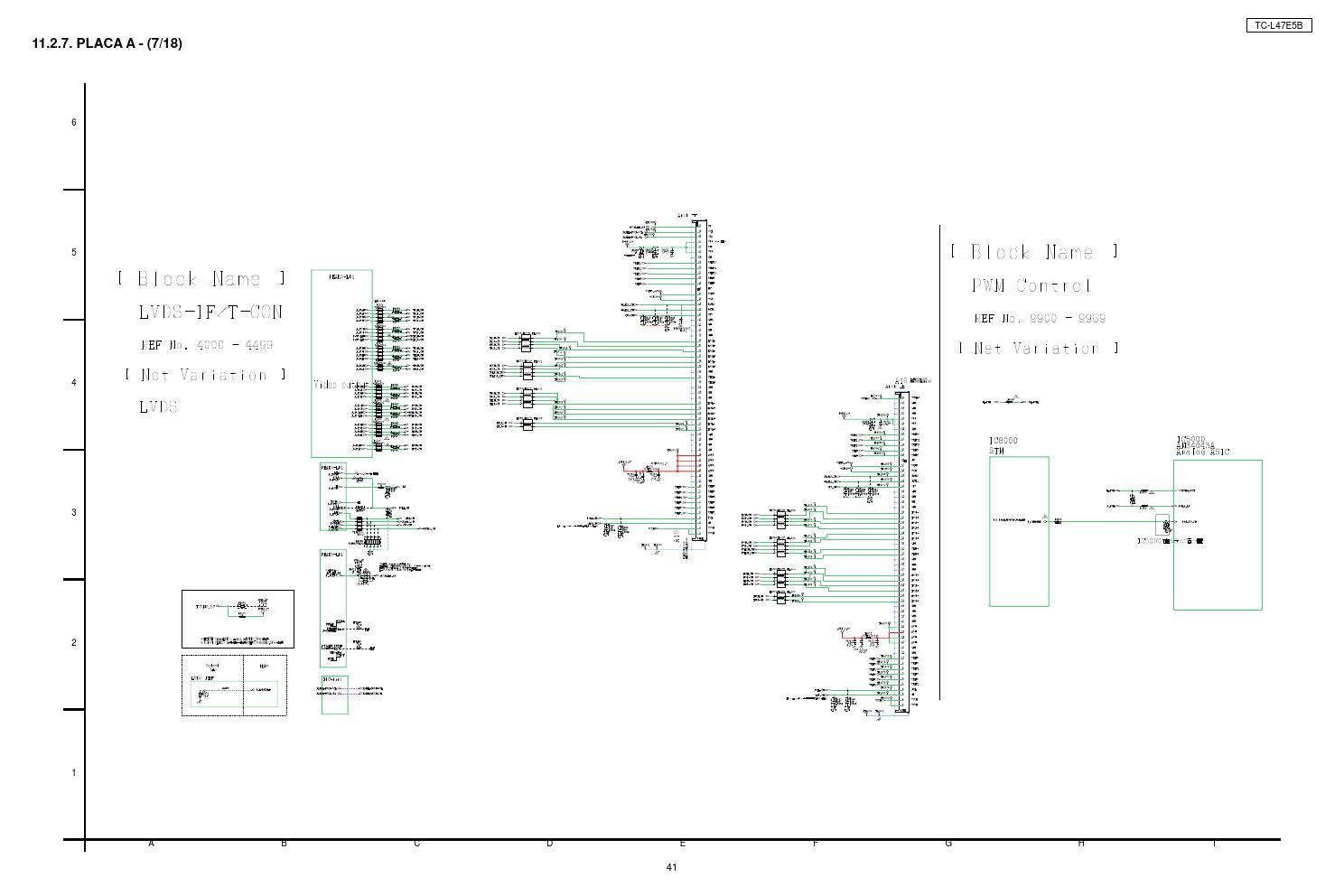 Manual de serviço tv lcd led panasonic tc l47e5b chassis