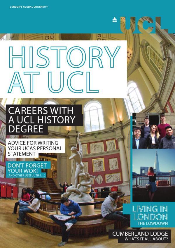 Ucl History Brochure - Issuu