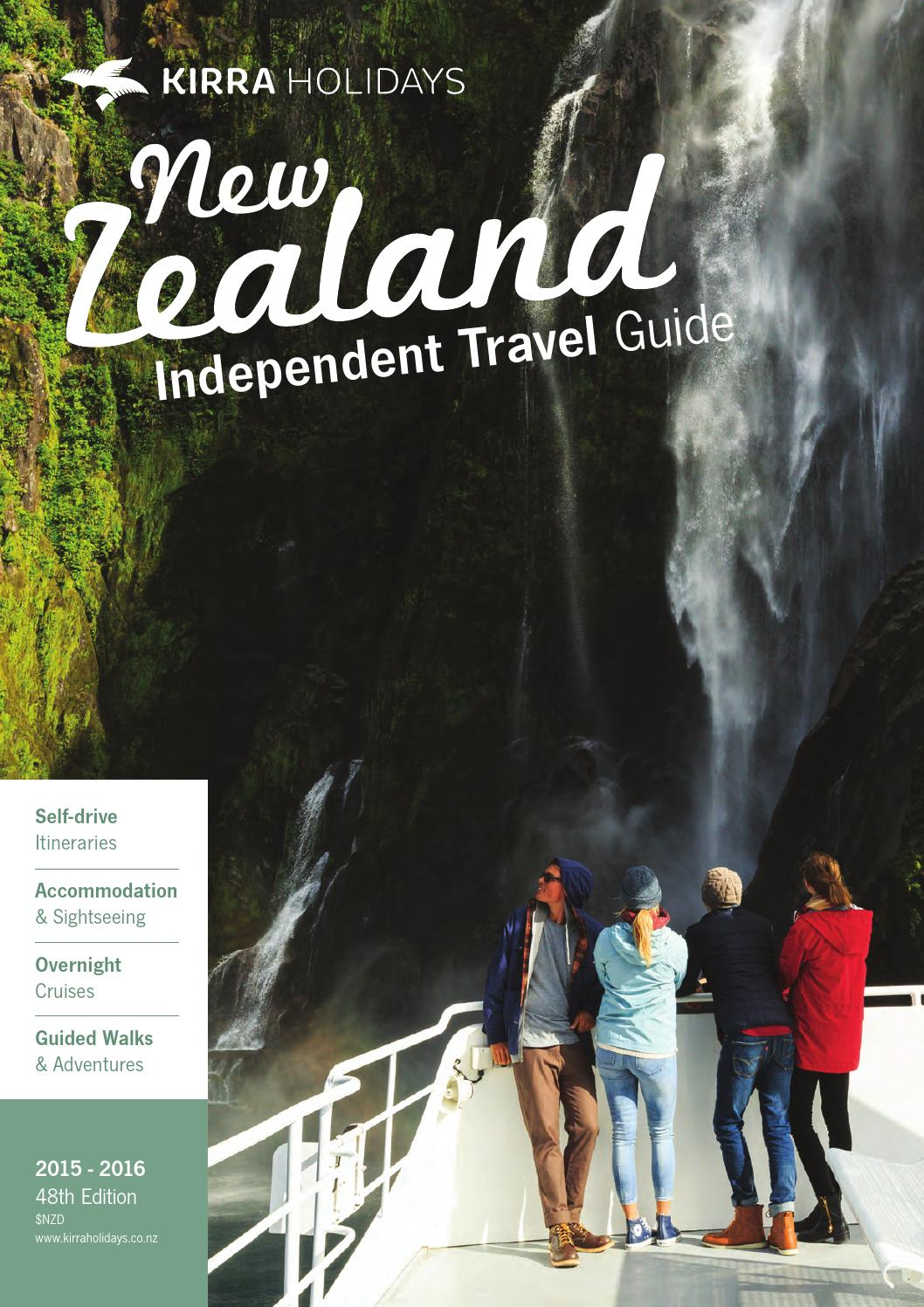 2015 16 Kirra Holidays New Zealand Independent Travel Guide