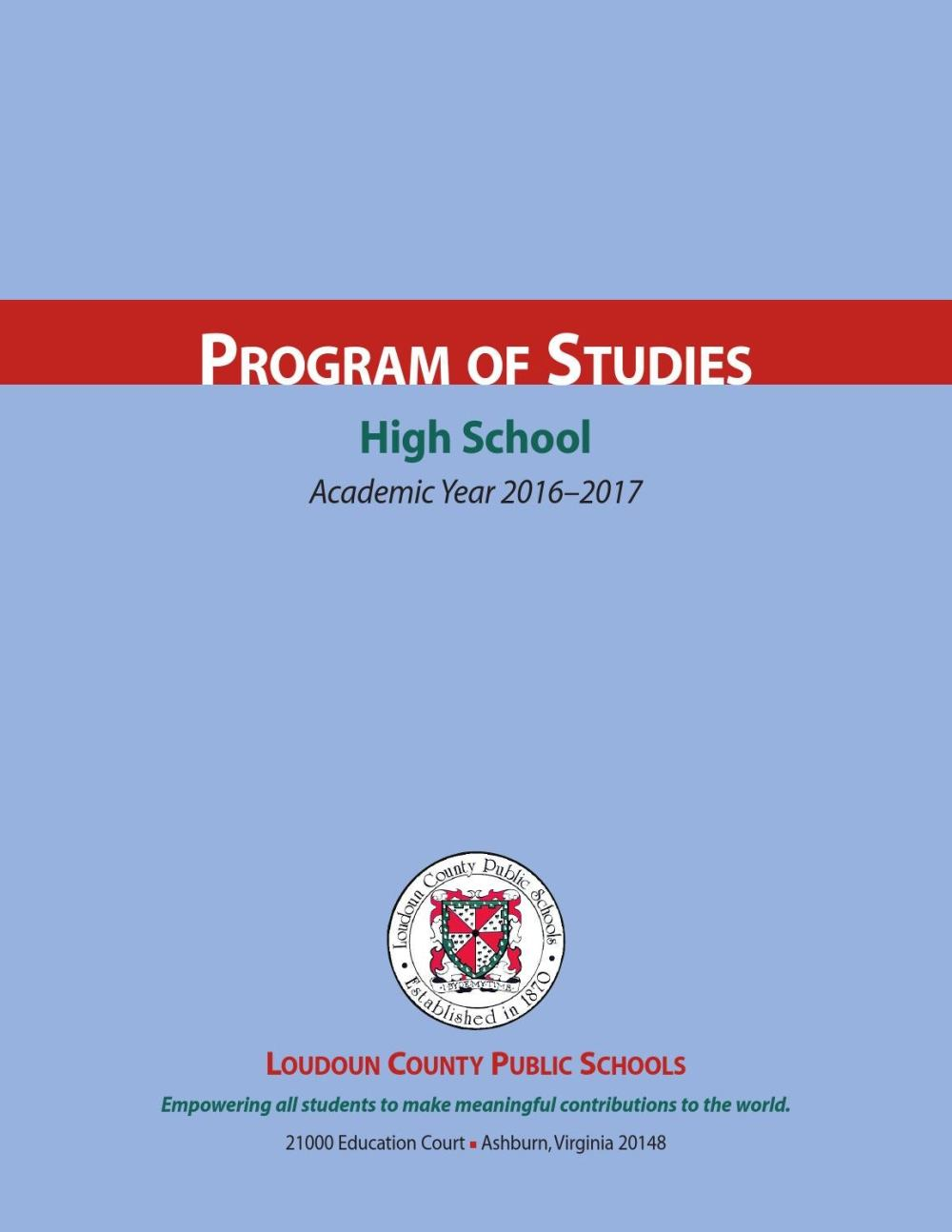 medium resolution of LCPS 2016- 2017 High School Program of Studies by Kevin Terry - issuu